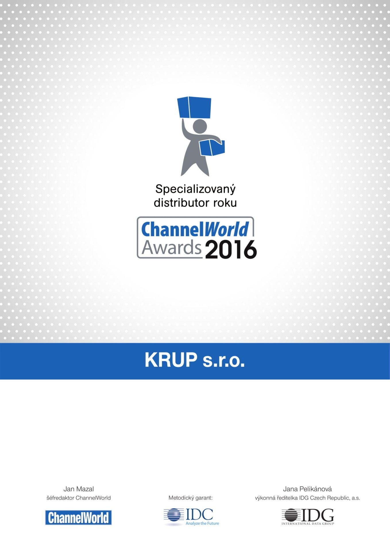 ChannelWord 2016 first place